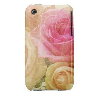 Floral Grunge iPhone 3 Case