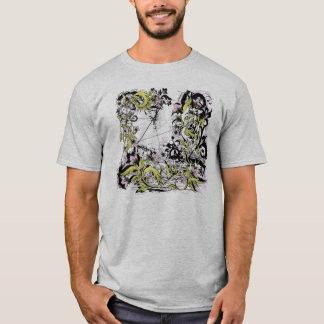 floral grunge leaves T-Shirt
