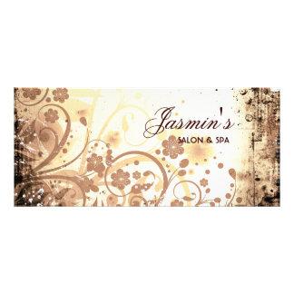 Floral Grunge Rack Card