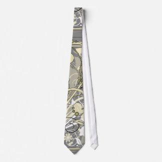 floral grunge tie