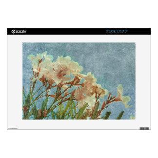 Floral Grunge Vintage Photo Laptop Skins