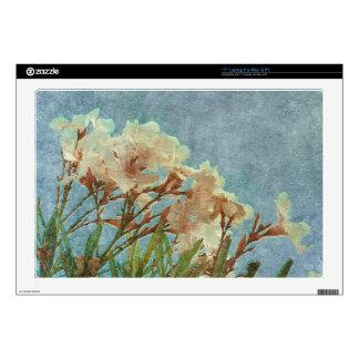 Floral Grunge Vintage Photo Skin For Laptop