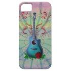 Floral Guitar iPhone SE/5/5s Case