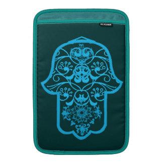 Floral Hamsa (Blue) Sleeve For MacBook Air