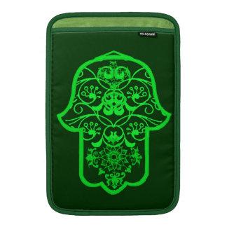 Floral Hamsa (Green) MacBook Air Sleeve