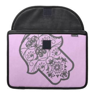 Floral Hamsa MacBook Pro Sleeve