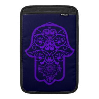 Floral Hamsa (Purple) MacBook Air Sleeve