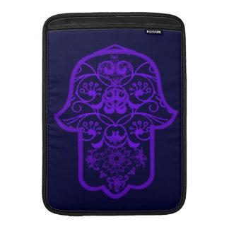 Floral Hamsa (Purple) Sleeve For MacBook Air