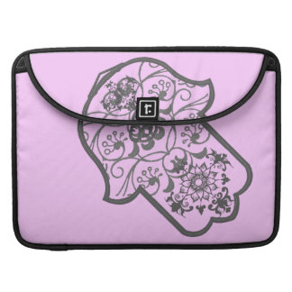 Floral Hamsa Sleeve For MacBook Pro