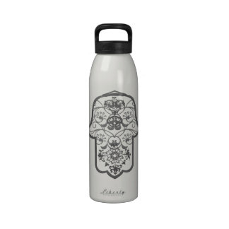 Floral Hamsa Drinking Bottles