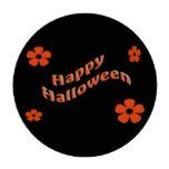 Floral Happy Halloween Poker Chips Set