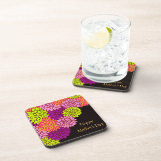 Floral Happy Mothers Day Coaster