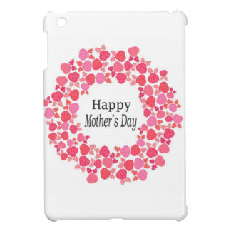 Floral Happy Mothers Day iPad Mini Cases