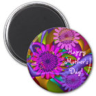 Floral Happy Mother's Day magnet