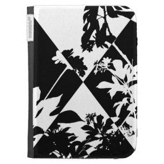 Floral Harlequin Kindle 3 Cases