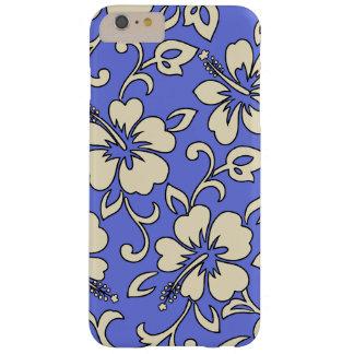 Floral hawaiano del hibisco de Malia Funda De iPhone 6 Plus Barely There