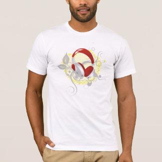 Floral Headphones T-Shirt