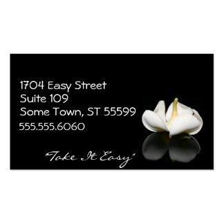 Floral Healing Business Cards