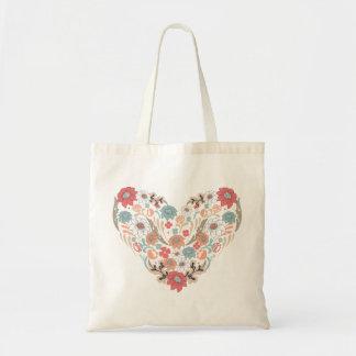 Floral Heart Bag