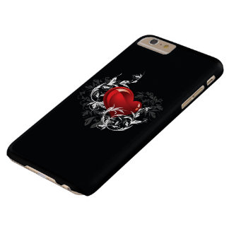 Floral Heart Barely There iPhone 6 Plus Case
