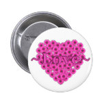 Floral Heart Love PIn