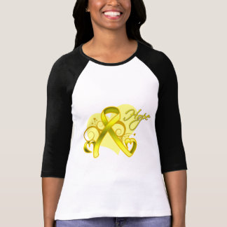 Floral Heart Ribbon - Suicide Prevention Tees