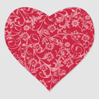 Floral Heart - Sticker
