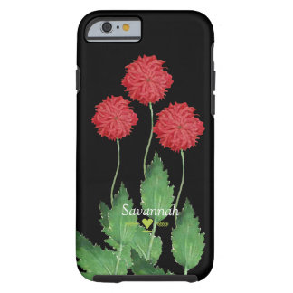 Floral Heirloom Exotic Black iphone 5 case