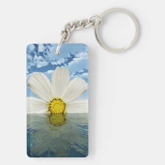 Floral Horizon Keychain