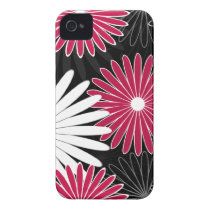 floral hot pink Case-Mate iPhone 4 case