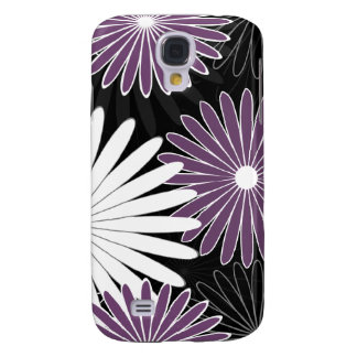 floral hot violet and purple samsung galaxy s4 cases