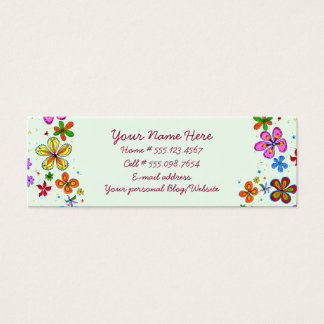 Floral Illustration Business Cards