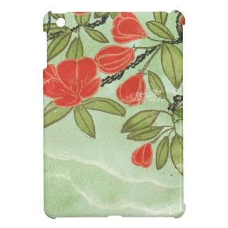 Floral illustration iPad Mini case