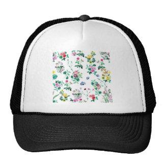Floral Image Fash Trucker Hats