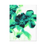 floral impresiones en lona