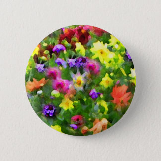 Floral Impressions Button