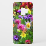 "Floral Impressions Flower Garden Galaxy S9 Case<br><div class=""desc"">This artistic Samsung Galaxy S9 case presents features masses of flowers in every color of the rainbow. Enjoy the yellow, orange, pink, red, blue, purple and white floral abstract pattern set on a background of green leaves. When viewing this artistic case, one is reminded of the garden of a French...</div>"