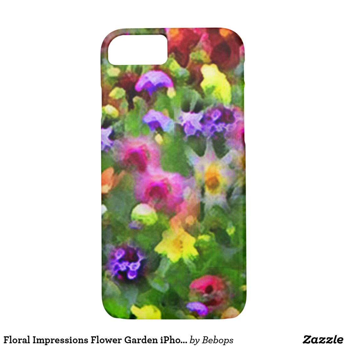 Floral Impressions Flower Garden iPhone 7 Case