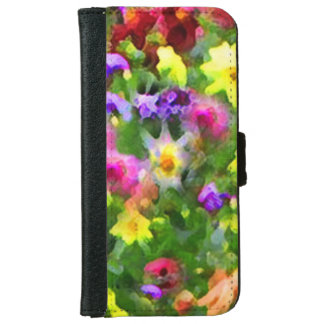 Floral Impressions iPhone 6 Wallet Case