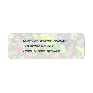 Floral Impressions Label