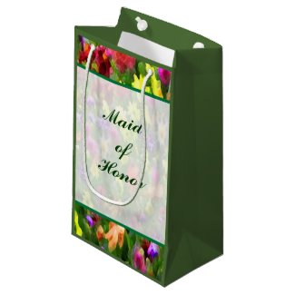 Floral Impressions Maid of Honor Small Gift Bag