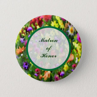 Floral Impressions Matron of Honor Pin
