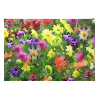 Floral Impressions Placemats