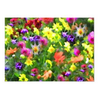 Floral Impressions Summer Solstice Invitation