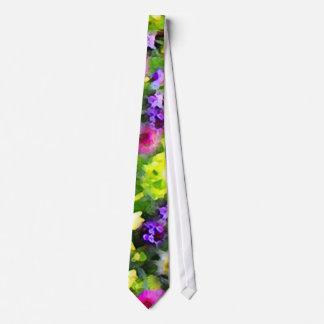 Floral Impressions Tie