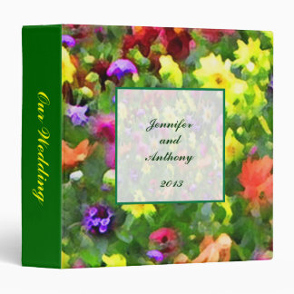Floral Impressions Wedding Album Binder