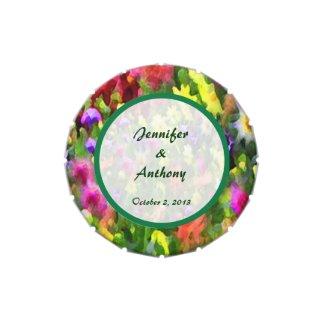 Floral Impressions Wedding Favor Jelly Belly Tins