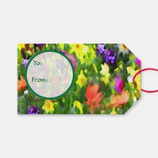 Floral Impressions Wedding Pack of Gift Tags