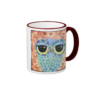 Floral Indulgence Ringer Coffee Mug