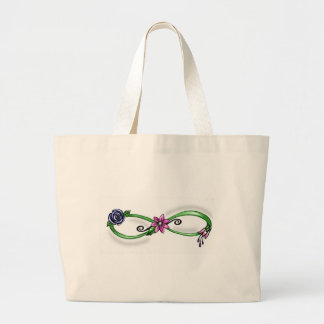 Floral Infinity Bag